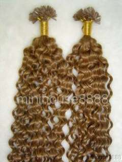 200 S 20 Curly Human Hair Extension #12,100g