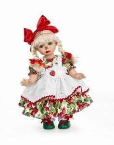 Lee Middleton Moments Berry Patch Doll 12 Vinyl NEW
