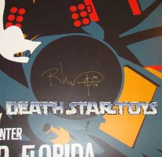 Star Wars Celebration CV Exclusive Poster Walks Signed