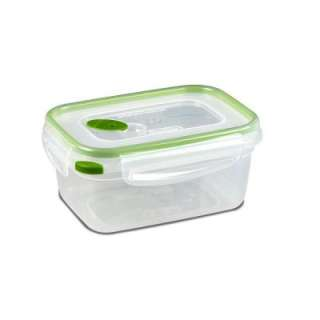 Sterilite Ultra Seal 4.5 Cup Rectangle Food Storage Container (6 Pack
