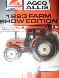 Ertl 1/64 farm toy tractor Agco Allis tractor 6680 1993 Farm Show