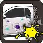 A491 Klecks Splash Auto Aufkleber Sticker Autoaufkle​ber