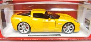 NEW RAY 1/24 2010 CHEVROLET CORVETTE GRAND SPORT YELLOW 71986