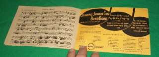 NCAA 1949 COLLEGE FOOTBALL BOWL SCHOOL PARADE MARCHING BAND JENKINS