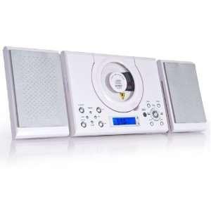 Musikcenter Stereoanlage CD Player Denver MC 5000 weiß