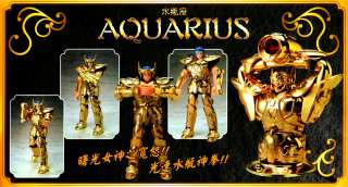 SAINT SEIYA Gold Aquarius Camus ANIME MANGA ACTION FIGURE NEW