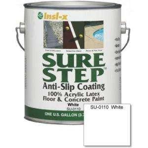 Sure Step 1 Gal Anti Slip Acrylic Latex Interior/Exterior Floor and