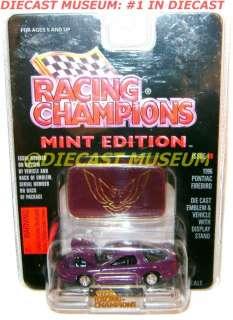 1996 96 PONTIAC FIREBIRD TRANS AM RACING CHAMPIONS MINT DIECAST