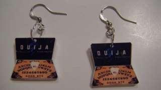 Ouija Board Earrings Jewelry Unique game Freaky cool