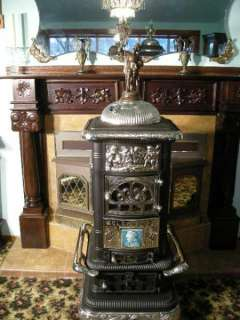 Antique Glenwood #23 Parlor Stove 100% Restored