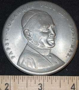 John Paul II Commemorative Medal Papstbesuch Zu Fulda 17 18 NOV MEDAL