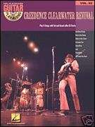 CREEDENCE CLEARWATER REVIVAL VOL.63 GUITAR MUSIC BOOK