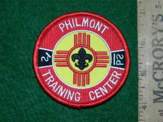PHILMONT TRAINING CENTER POCKET PATCH COMPUTER DESIGNED
