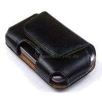 Accessory Leather Pouch Flip Clip Case Cover for Vodafone 858 Smart