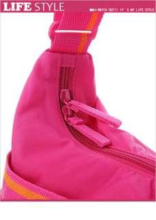 BN PUMA Core Shoulder Messenger Bag in Peach Pink