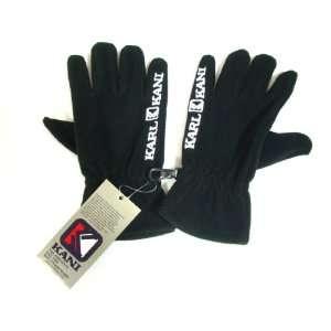 Karl Kani Handschuhe Fleece (neu) black schwarz  Sport