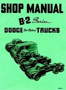 1950 DODGE TRUCK Shop Service Repair Manual Engine Drivetrain