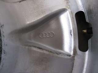 Original Audi A8 4E 16 Zoll Alufelgen Gullideckel TOP
