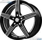 15x7 Verde Official 5x110 +40mm Gloss Black Wheels Rims Inch 15