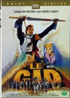 El Cid (1961) Charlton Heston DVD Sealed