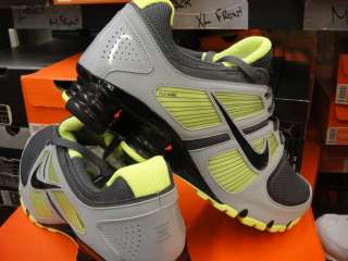 Nike Shox Turbo + II Dark Grey Volt Sneakers Mens 10.5