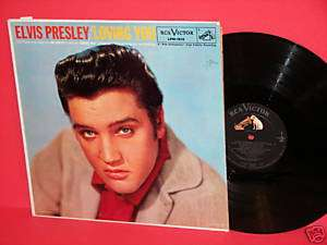 Elvis Presley / Loving You (RCA Long Play LPM 1515)
