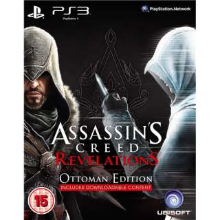 Assassins Creed Revelations Ottoman Edition   PS3 Game New and Sealed