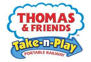 Thomas and Friends Cranky the Crane at the Docks Take N Play Portable