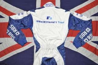 F1 DRIVER RACE SUIT   MARK WEBBER   WILLIAMS BMW F1   F1 247