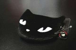 BLACK CAT PORTAMONETE PUNK DARK EMO GOTH METAL GOTHIC