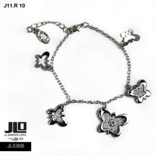 JLO by Jennifer Lopez Gioielli Bracciale linea E ref J11R1007 farfalla
