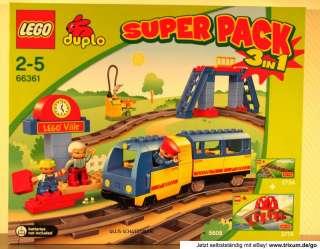 NEU 66361 LEGO DUPLO SUPER EISENBAHN SET 5608 3774 2734