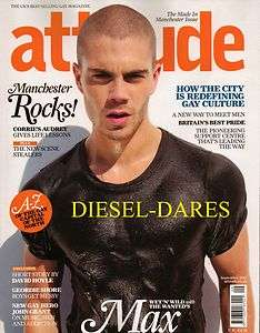 ATTITUDE september 2011 THE WANTED MAX GEORGE