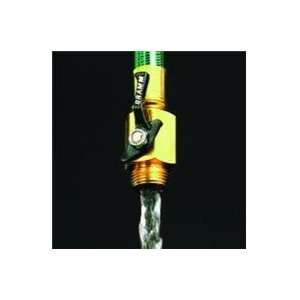 BRASS SHUT OFF VALVE, Size .75 INCH (Catalog Category Lawn & Garden