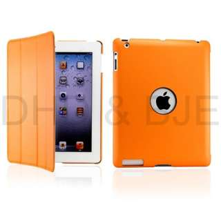 Fullbody Smart Cover Slim Magnetic PU Leather Case for The New iPad 3