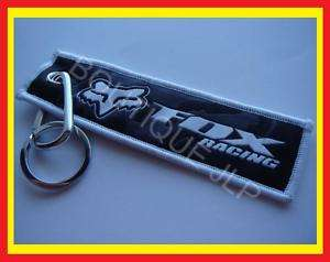 PORTE CLES KEYRING MOTO CROSS QUAD BMX VTT FOX RACING