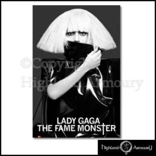 Lady Gaga The Fame Monster White Hair Official Poster