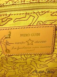 Borsa Donna Bag PIERO GUIDI Shopping Piccola Bianco Esclusivo Lusso