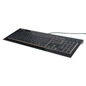 Enermax Technology Ultra Thin Profile Acrylux Keyboard