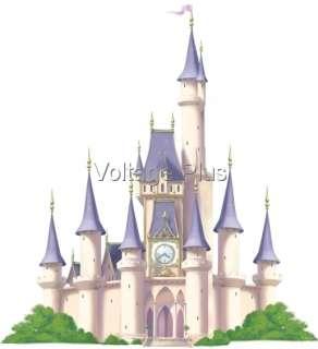 CHATEAU Disney PRINCESSE STICKERS Muraux Déco Mural XXL