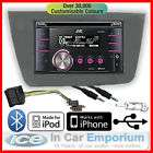 Seat Leon JVC KW XR811 CD Player Upgrade USB AUX iPod