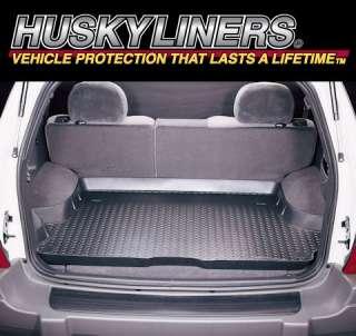 Husky Liner 20001 Black Rear Cargo Area Mat Custom Fit