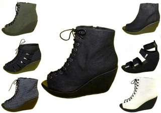 Vagabond Damen Schuhe Pumps Peep Toe Wedges