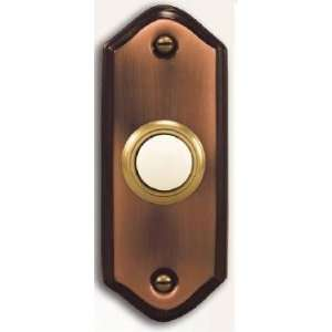 Heath Zenith 924 Copper Collection, Wired Push Button, Lighted