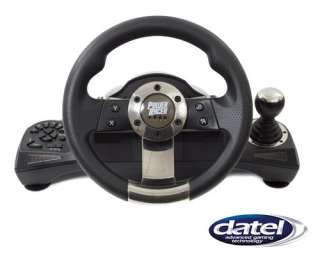 STEERING WHEEL & PEDALS FOR MICROSOFT XBOX 360 5060213890572