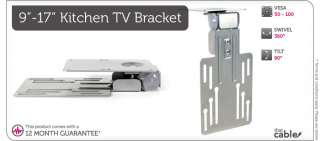 LCD TV BRACKET MOUNT UNDER KITCHEN CABINET  9 15 16 17