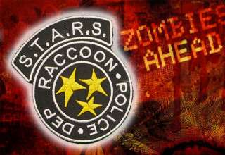 RESIDENT EVIL S.T.A.R.S. Raccoon City Police Patch