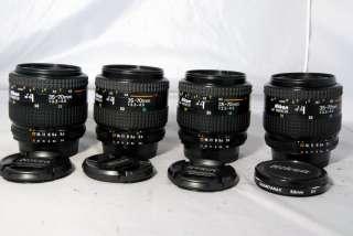Nikon 35 70mm f3.3 4.5 lens AF Nikkor auto focus zoom made in Japan