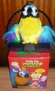 Adult TOY Polly the INSULTING parrot rude obnoxious