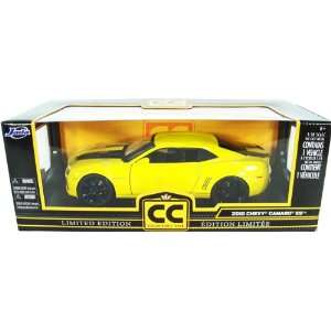 Jada Toys 1/18 Scale Diecast 2010 Chevy Camaro Ss in Color